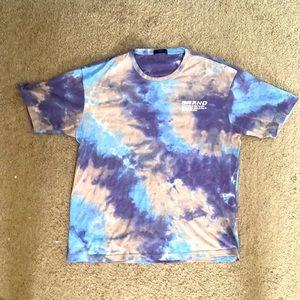 Tie Die Cotton T-Shirt